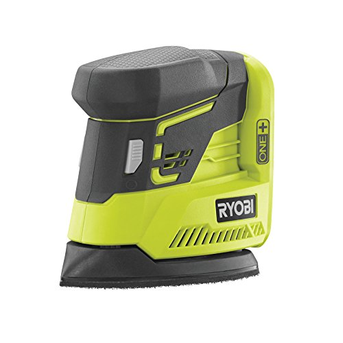 41pc8aSfzDL - NO.1 BEST POWER TOOL REVIEW Ryobi R18PS-0 ONE+ Palm Sander COMPARE BUY PRICE UK
