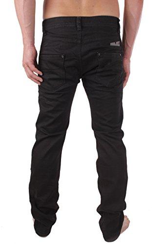 Diesel Darron 0R4H6_Stretch Herren Jeans Hose Regular Slim Schwarz