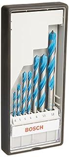 Bosch Professional - Juego de 7 brocas multiuso Robust Line CYL-9 MultiConstruction (4 5 6 6 8 10 12 mm) (B001IBKQWM) | Amazon price tracker / tracking, Amazon price history charts, Amazon price watches, Amazon price drop alerts