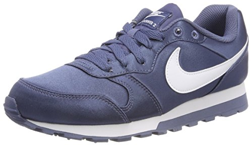 NIKE Damen MD Runner 2 Laufschuhe, Blau (Diffused Blue/White 407), 40 EU
