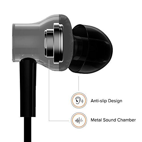 Mi Earphones with Dynamic bass, Music Control and mic (Silver) Image 2