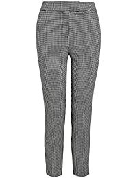 Amazon.fr   pantalon vichy - Pantalons   Femme   Vêtements 8d82543bf1cb