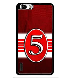 PRINTSWAG TYPOGRAPHY Designer Back Cover Case for HUAWEI HONOR 6