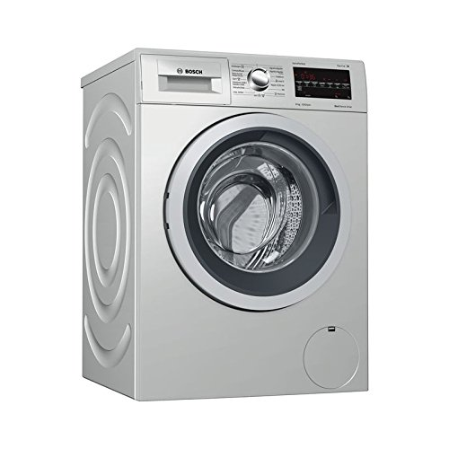 Bosch Serie 6 WAT2449XES Independiente Carga frontal 8kg 1200RPM A+++ Acero inoxidable...