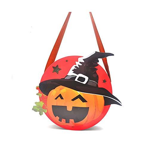 hou zhi liang Halloween Goody Taschen Halloween Dekorationen Neuheit Halloween Thema Trick or Treat Goodie Taschen für Kinder Kinder und Jugendliche (blau)