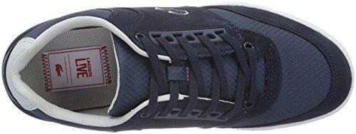 Lacoste L!VE - Indiana - Sneaker - Homme bleu (NVY/DK BLU)