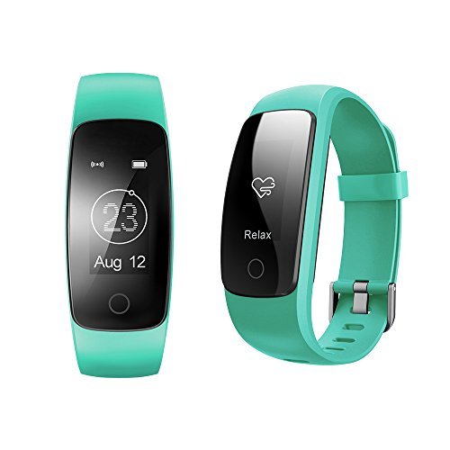 COOSA Fitness Tracker Fitness Armband (Id107 Plus)
