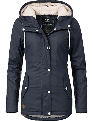 Ragwear Damen Mantel Wintermantel Regenmantel Marge 9 Farben XS-XL
