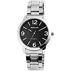 Excellanc Men Analog Watch silver silver Knell