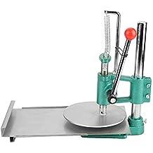 Akozon Máquina manual de la prensa de la pasta, laminadora del rodillo de la pasta para hacer la masa de la pizza, máquina manual de la prensa de la masa de ...