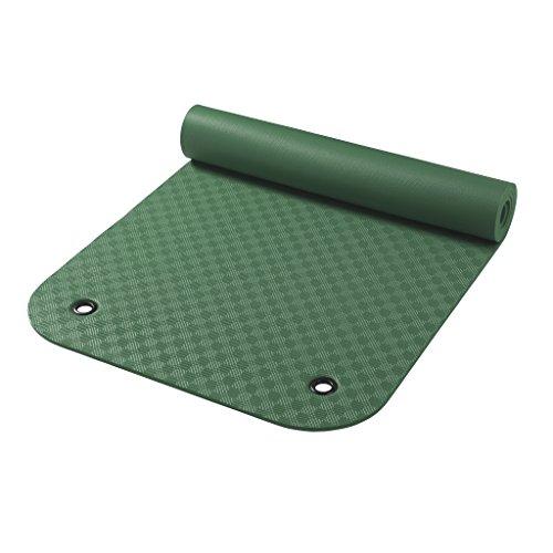 Wehncke Uni Gymnastikmatten Gymnastikmatte Mit Ösen, grün,  180 x 65 x 0.8 cm, 24902