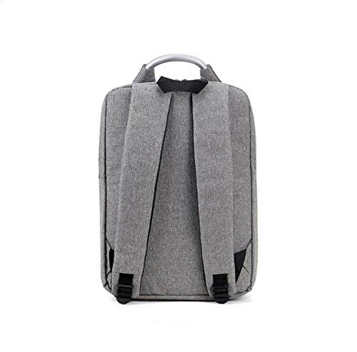 Männer Und Frauen Können Business-Paket Schultertasche Einfach Computer Tasche Rucksack Freizeit Im Freien Einfach Wilden Wasserdicht Grey
