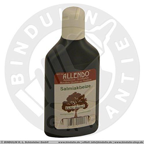 Salmiakbeize Holzton inkl. 1x Pinsel für beizen zum Auftragen (250 ml eiche-rustikal)