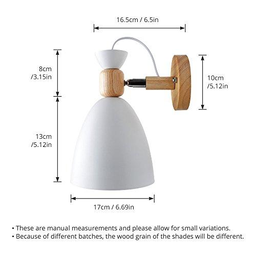 Zoom IMG-2 ascelina lampada da parete a