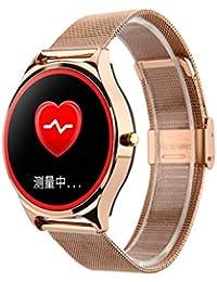 A-Artist Fitness Tracker,Wasserdicht Fitness Armband mit Pulsmesser 0,96 Zoll Farbbildschirm Smartwatch Aktivitätstracker Pulsuhren Schrittzaehler Uhr Smart Watch Fitness Uhr für Damen Herren