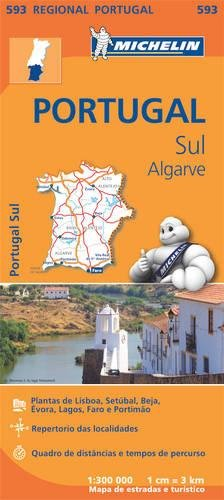 Mapa Regional Portugal Sul - Algarve (Carte regionali) por Vv.Aa