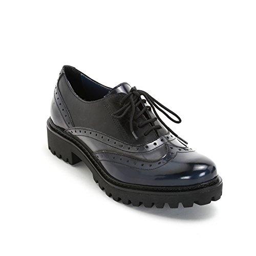 Marina Seval Par Shoes & Shoes - Bas À Effet Lacé Tricolore Brillant-opaque Et Extra-léger, Bas Chaussure Multicolore