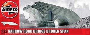 Airfix - Edificio Narrow Road Bridge Broken Span, 1:72 (Hornby A75012)