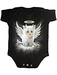 Spiral Kitten Angel Body schwarz