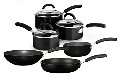 Circulon Cookware Set, Aluminium, Black, 45 x 33 x 17 cm