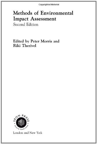 Methods of Environmental Impact Assessment (Natural and Built Environment Series)