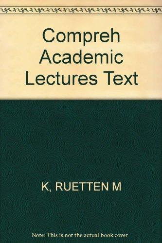 Comprehending Academic Lectures