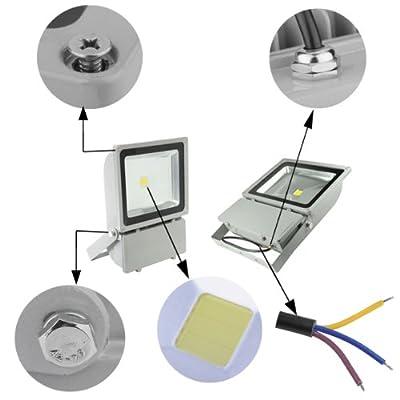 TOP-Qualität IP65 100w LED Lampe Squre Fluter kaltweiß Lampe Energiesparlamep Wandleuchter Außenstahler Flutlicht Scheinwerfer von Tianhong bei Lampenhans.de