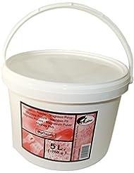 8C+ - Cubo de polvo de magnesio (760 g, 5 L), color blanco