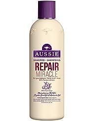 Aussie Repair Miracle Shampoing Pour Cheveux Abîmés Qui Crient « À L'Aide » 300 ml