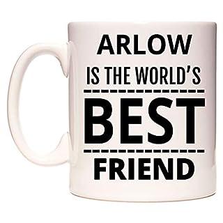 ARLOW Is The World's BEST Friend Becher von WeDoMugs