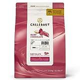 Callebaut N ° RB1 - Feinste belgische Rubinschokolade (Callets) 2,5 kg