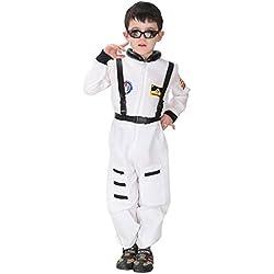 JT-Amigo Disfraz de Astronauta para Niños, Talla 4-5 años