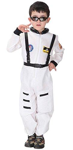 en Astronauten Kostüm für Halloween, Fasching, Karneval Gr. 122/128 (Halloween Astronaut Kostüm)