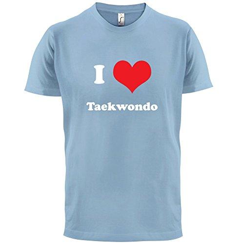 I Love Taekwondo - Herren T-Shirt - 13 Farben Himmelblau