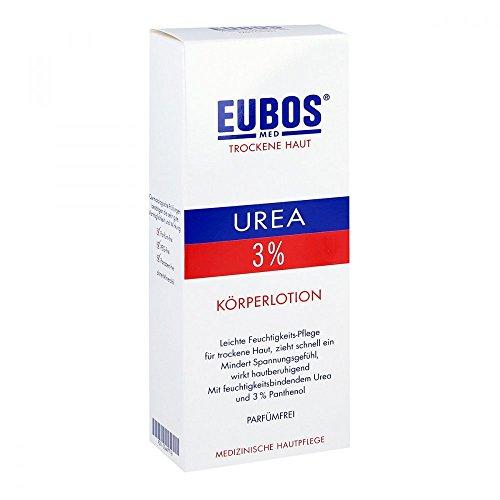Eubos Trockene Haut Urea 3{77b631427ed29af298014c0b92aa6d4ff0d8cdefa332fc742647f633ccc94318} Körperlotion 200 ml