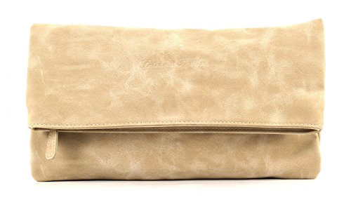 Fritzi aus Preußen Ronja New York borsa - Pochette 29 cm Linen (Beige)