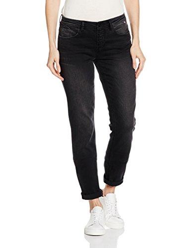 H.I.S Jeans Monroe, Jeans Femme Noir (black Deluxe 9955)