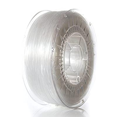 3D Filament ABS+ 1,75mm transparent (Made in Europe)