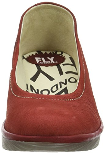 Fly London - Pump, Scarpe spuntate Donna Rosso (CORDOBA RED/CHERRY 062)