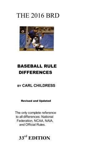 2016 BRD: Baseball Rule Differences