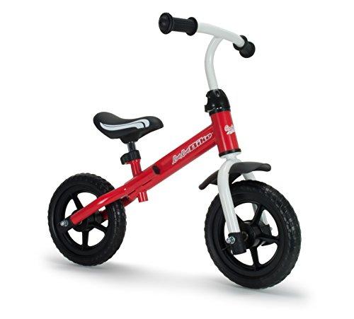 RunRunToys - Bicicleta Runrunbike ligera y fácil de manejar basic unisex para niños a partir de 2 años, color rojo (Herrajes Multimec 508)