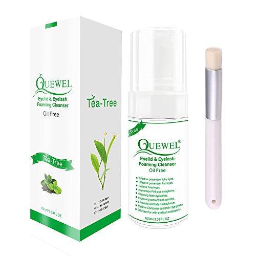 537b0d98a13 Tea Tree Lash Cleanser -Foaming 100 ml Eyelash Shampoo/Wash Eyelash  Extension Safe For