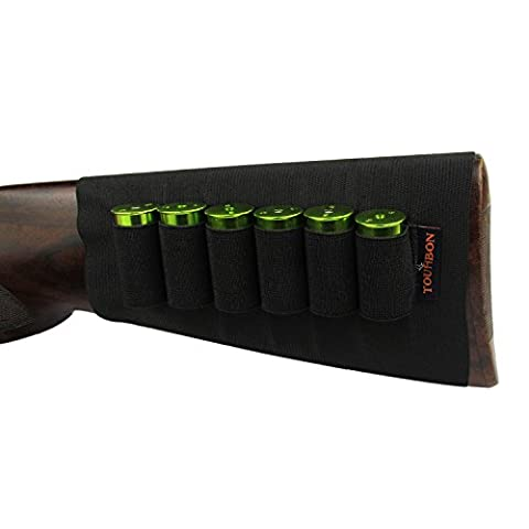 tourbon Fusil munitions élastique manches Buttstock calibre 12Cartouche Support