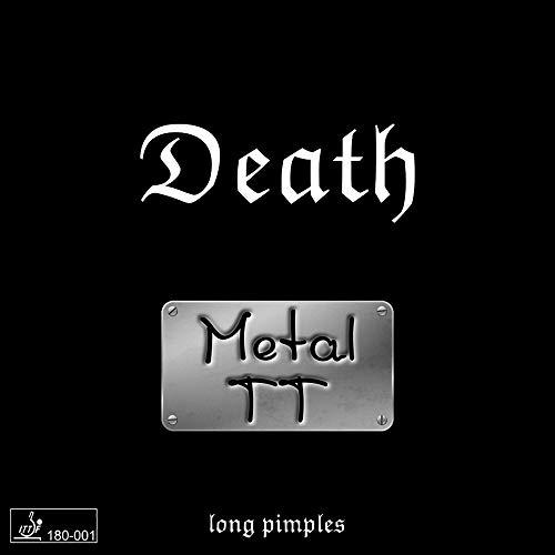 METAL TT Belag Death (Langnoppenbelag), OX, schwarz