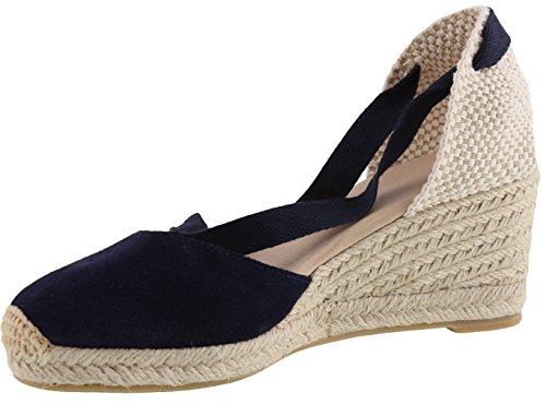 Simplec scarpe moda sandali espadrillas da donna, 2.5