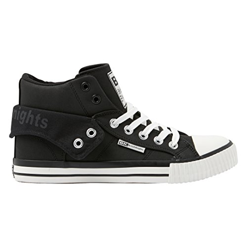 British Knights Herren Roco High-Top schwarz - weiß