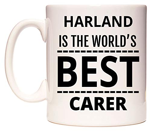 HARLAND Is The World's BEST Carer Tazza di WeDoMugs