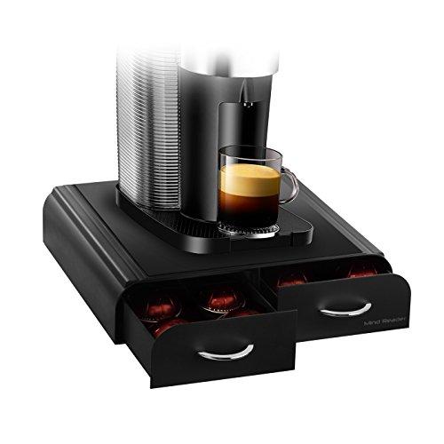 Mind Reader \'Anchor\' Caja para 32 capsulas de Tassimo, 20 capsulas Vertuoline Nespresso, 20 paquetes de Keurig Vue