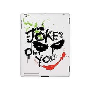 Posterboy PBWARDKIPM624 Dark Knight-Batman Joker The Joke's in You Matte Back Cover for Apple iPad 2/3/4 (Multicolor)