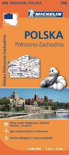 Mapa Regional Polska Pólnocno-Zachodnia  / Poland North West (Michelin Regional Maps)